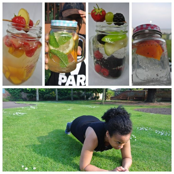 Infused water plank