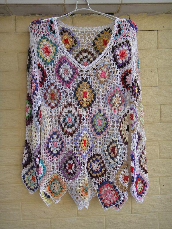 patrones de blusas tejidas a crochet gratis - Buscar con Google