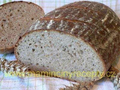Pivní kváskový chléb