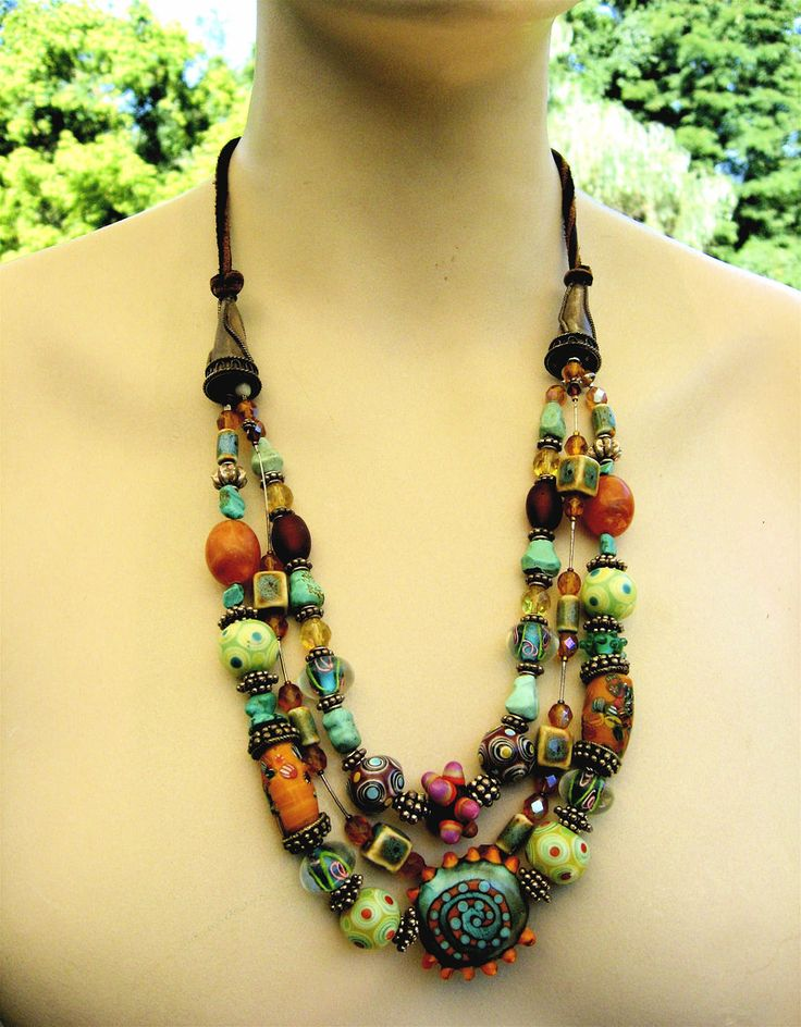bohemian necklace | by aquaart