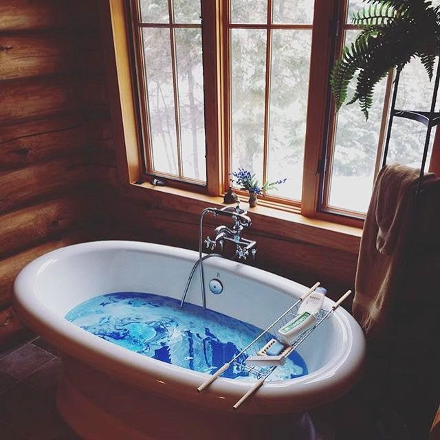 Best Bath Goals Images On Pinterest Bath Bombs Bath Time And - A seductive home with lush colors and double baths