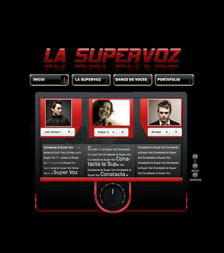 La supervoz, web multimedia