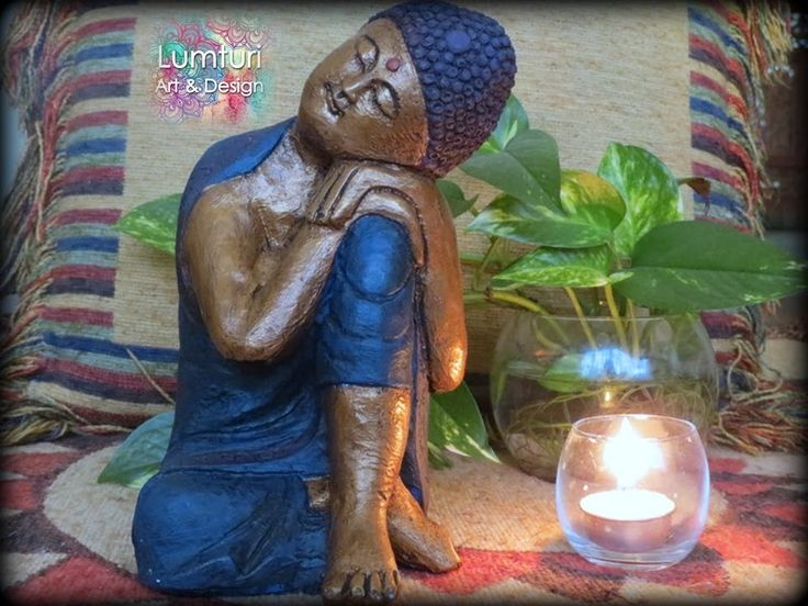 Buda de los sueños masculino 24x14 cm