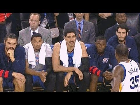 Kevin Durant Booed in Return to OKC! Heated Exchanges! Warriors vs Thunder - YouTube