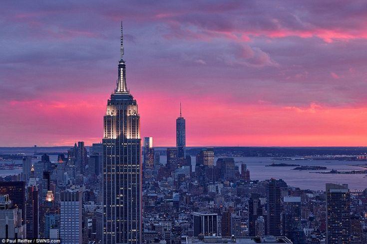 Fotógrafo corre o mundo pra registrar o nascer e o pôr-do-sol e o resultado é…