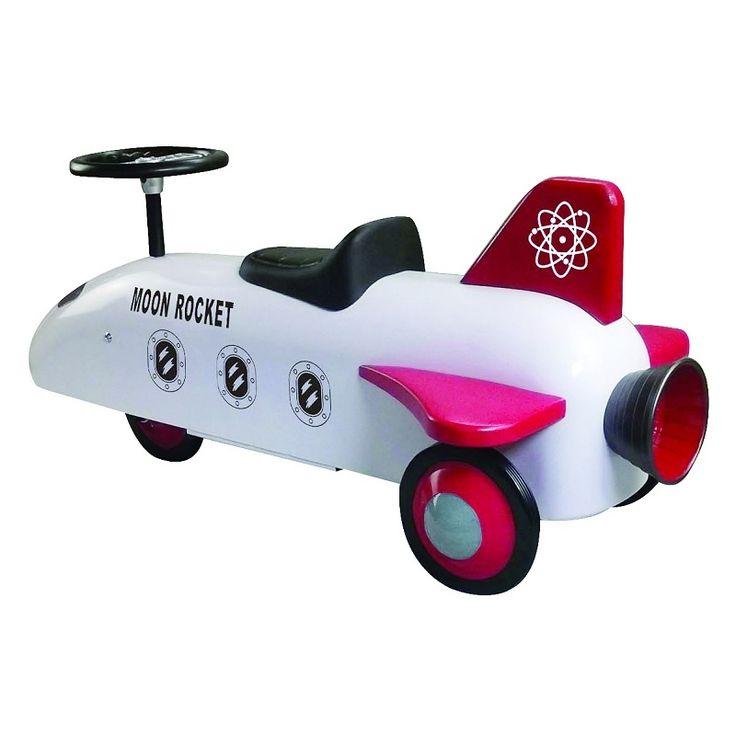 Inspiring Toys - Ride on Toy Rocket, £69.99 (http://inspiringtoys.co.uk/ride-on-toy-rocket/)