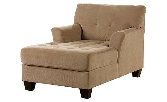 Chaise lounge sofa ashley furniture woodworking projects for Ashley chaise lounge recliner