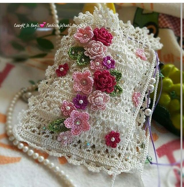 ANY OF THESE COULD BE MADE INTO SO MANY 'OTHER' THINGS!  Longer could be a WATER BOTTLE HOLDER. A different closure, and a liner, could be a CHANGE PURSE. Larger in general would make a lovely ADULT PURSE. This one...I would just hang it in my craft room for inspiration!!! ♥A