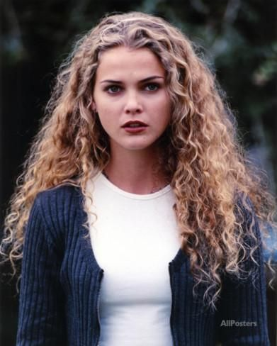 Keri Russell Curly Hair Portrait Photo