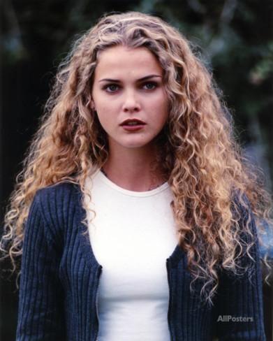 Keri Russell Curly Hair Portrait Photo