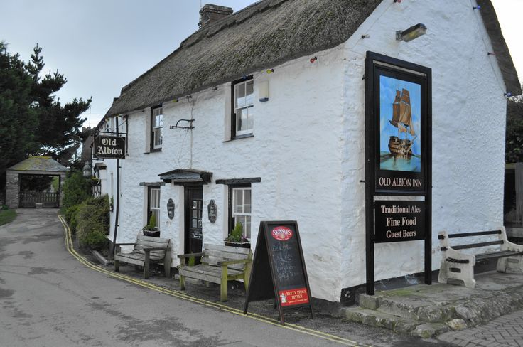 Old Albion Inn in Crantock, Newquay, Cornwall