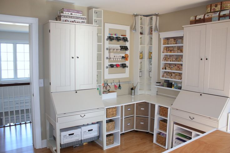 Storage Solutions For Craft Rooms: 371 Best Images About Scrapbooking Rooms On Pinterest