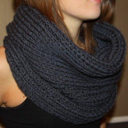 + de 30 DIY pour tricoter un snood                                                                                                                                                                                 Plus