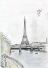 Eiffelturm auf http://www.croquis.eu/sketches/eiffelturm-2/ #sketch #draw #zeichnen #skizze #zeichnung #dessiner #croquis #equisse #griffonage