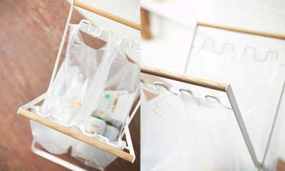 【楽天市場】tosca レジ袋スタンドスタンド レジ袋 北欧 ホワイト シンプル オシャレ 収納 エコ 可愛い[送料無料]:ヒナタデザイン