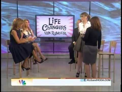 Dr. Luis Navarro of The Vein Treatment Center in New York appears on NBC's Today Show with Kathie Lee and Hoda.