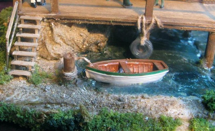 1000 images about ho scale buildings on pinterest for Fishing row boats