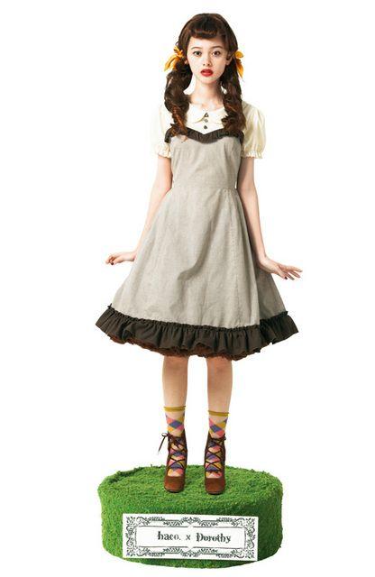 Dorothy x haco. [ハコ]|世界の童話を楽しむコスチュームセットの会|フェリシモ