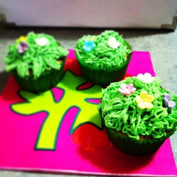 Cupcake in fiore