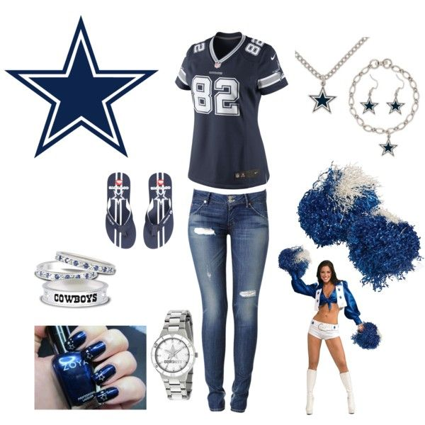 """""""Dallas Cowboys Outfit"""" by linda-alaniz on Polyvore"""