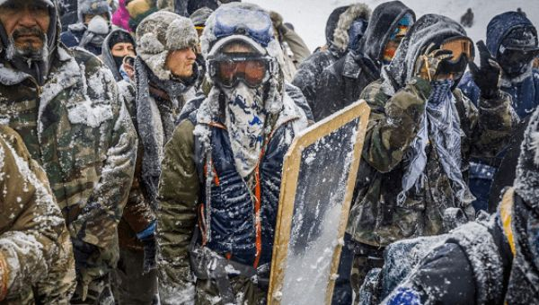 MEDIA BLACKOUT! The DAPL Protests Are STILL Going Strong Because the Pipeline Is Still Being ILLEGALLY Built