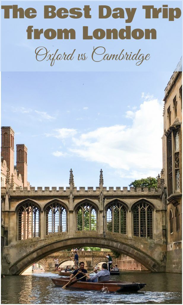 The Best Day Trip from London: Oxford vs Cambridge [The best way to see a college for free or if it's closed during term time is to attend a chapel service such as evensong. For a college you're interested in visiting, go to the college website to see service times.]