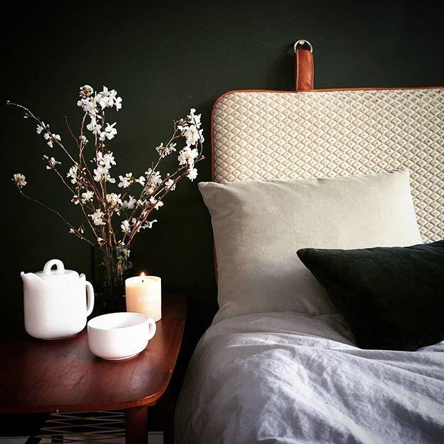Sweet dreams #them #headboard #bythornam #bedroom #interiordesign #furniture #design #velvet #leather #slowliving #hygge #sweetdreams #madeindenmark #handmade #danishdesign #luxery