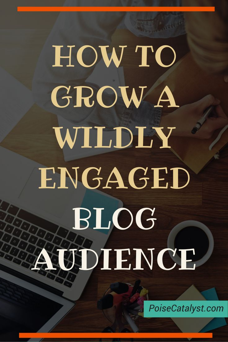I love Melyssa Griffin! Check out yet another awesome tutorial from her, sharing how to grow a wildly engaged blog audience. Click through!