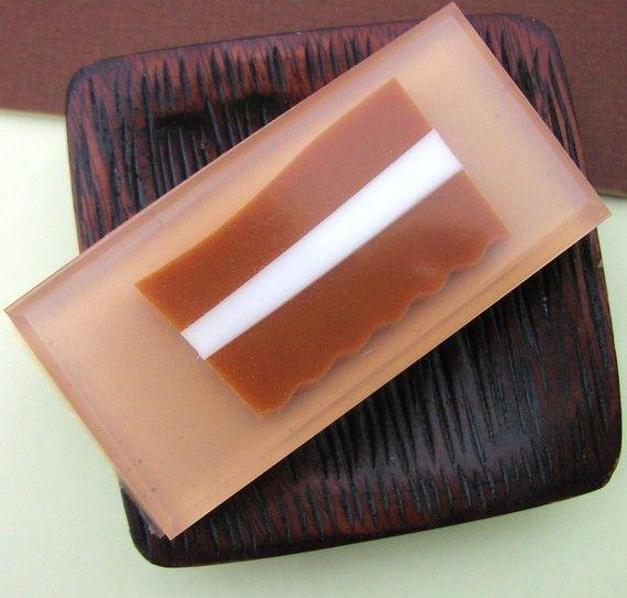 BACON SOAP smells just like Bacon Geekery by SunbasilgardenSoap #bacon #soap