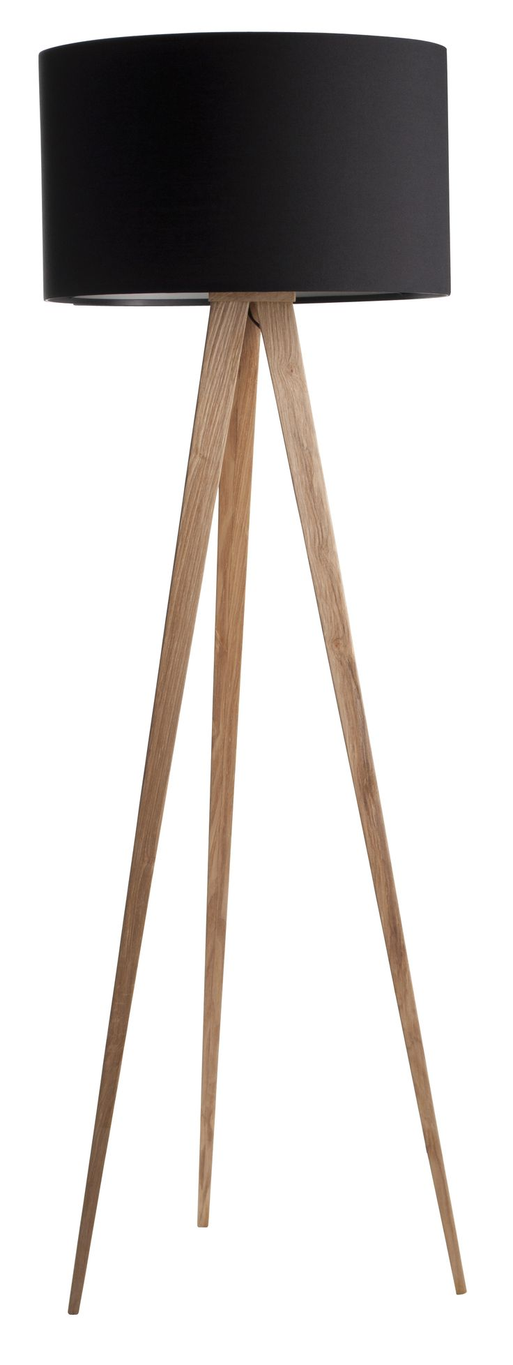 Tripod Wood floor lamp - Zuiver