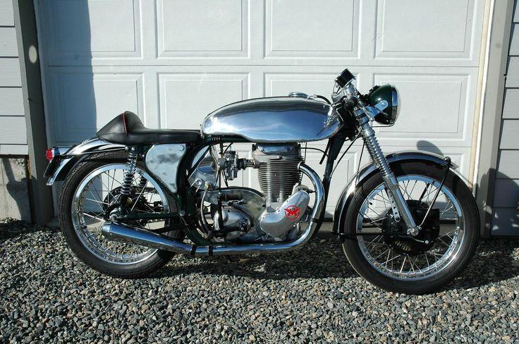 1964 Norton Matchless Custom Cafe Racer for sale via Rocker.co