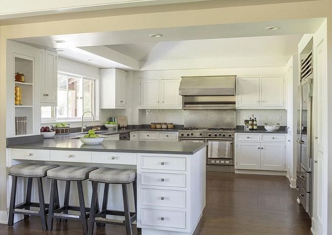 Best Beautiful White Kitchens Images On Pinterest White