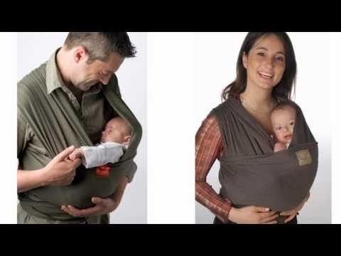 www.babymaxi.de: Tragetuch Babylonia Tricot Slen Trageanleitung - Baby liegend