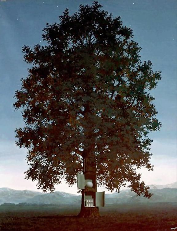 """Voice""  Rene Magritte - Oil"