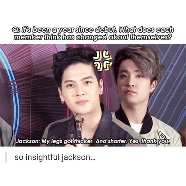 Jackson, I don't think that's what they were looking for xD but u know, that's interesting info you got there