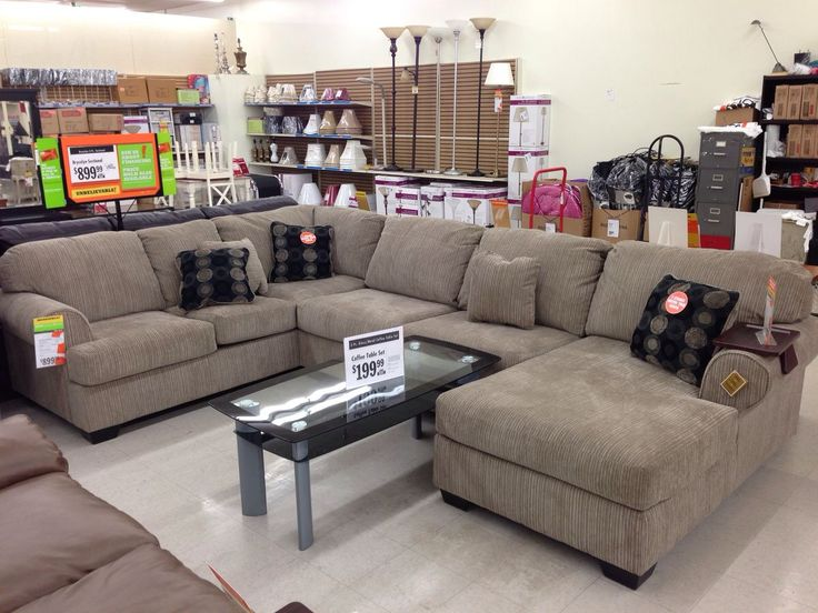 Big Lots Sectional John and I actually both liked this one