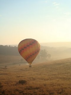 Hot air balloon - Cradle of Humankind, Gauteng