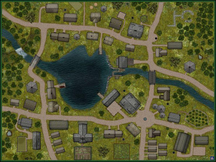 village map rpg fantasy maps town dragons dj dungeons bogie deviantart villages minecraft castle cities encounter pathfinder area game dungeon