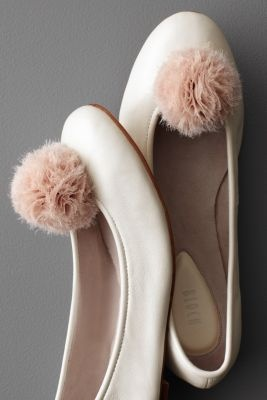pompon shoe clip from BHLDN