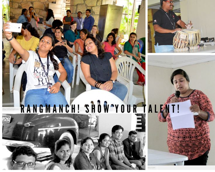 Rangmanch, show your talent! A lot of fun, while everyone is performing! www.extentia.com
