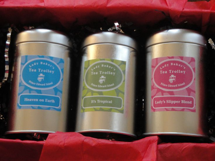 'We Three Tins' of Christmas. Retail: $26.50. Choose your three teas & we will package them up for you. This offer is currently only available at the Charlottetown Farmer's Market. If you would like to order and have it shipped to you please contact us: http://www.ladybakersteatrolley.com