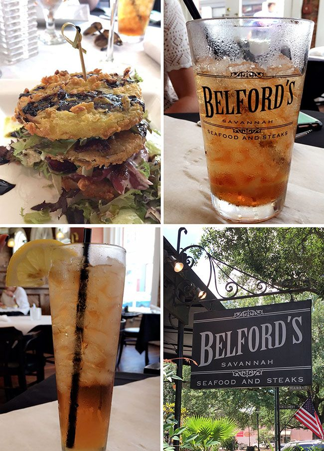 Belford's Savannah Steak and Seafood Restaurant . More Savannah travel, eats and sightseeing at TidyMom.net