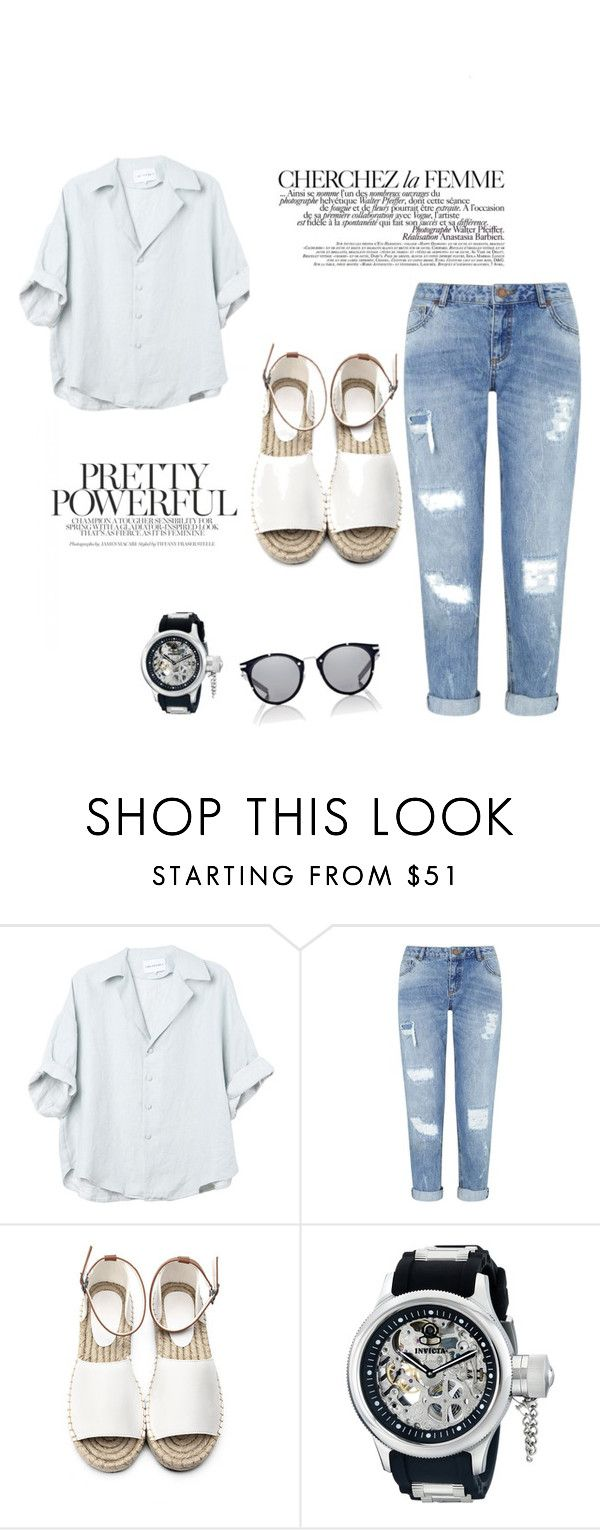 """""""pretty power"""" by zahrohusna on Polyvore featuring La Femme, Miss Selfridge, Invicta and Dior Homme"""