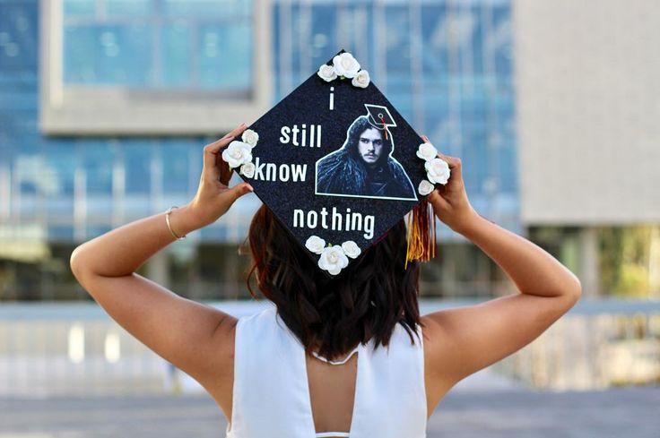 Game of Thrones Graduation Cap