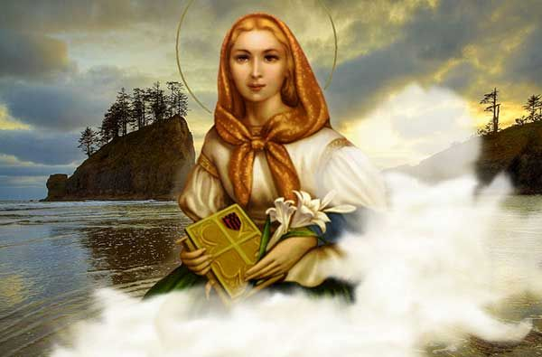 A PRAYER TO ST. DYMPHNA (Prayer of Healing for Mental Illness) | Saint Therese