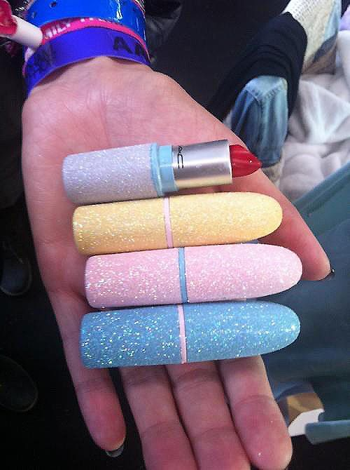 MAC glitter on glitter. I would buy them all. #justbecause