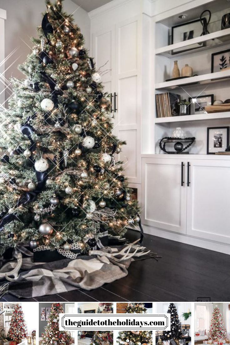 Pin By Rose Reyes On Natal Christmas Tree Wallpaper Modern Christmas Tree Christmas Tree Inspiration