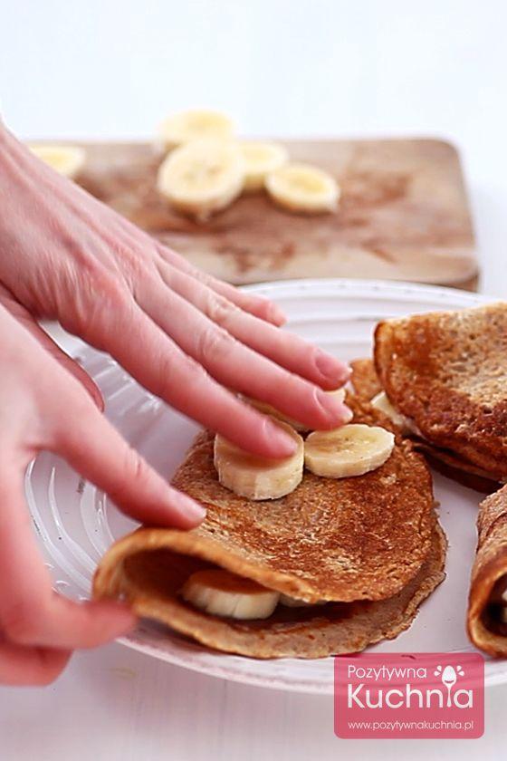Jak zrobić #nalesniki razowe - #przepis krok po kroku - podstawowa receptura  http://pozytywnakuchnia.pl/nalesniki-razowe/  #kuchnia