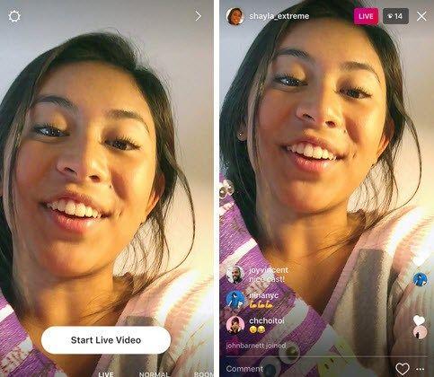 Le meilleur de Snapchat et Périscope arrive sur instagram