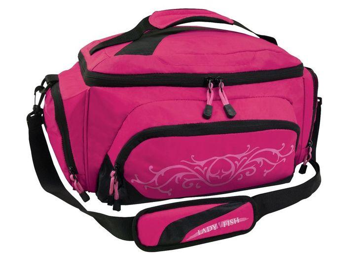 Lady FIsh Girls Women Pink Tackle Bag W/ 4 Large Utility Boxes Fresh Salt Water | Sporting Goods, Fishing, Fishing Equipment | eBay!